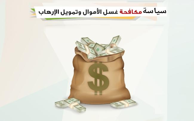 سياسة الاشتباه بعمليات غسل الاموال وجرائم تمويل الارهاب